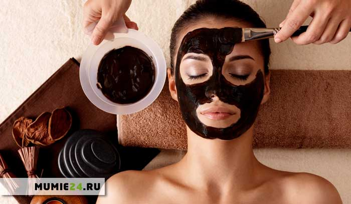 маска с мумиё для лица